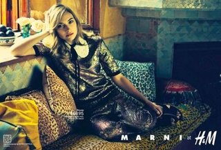 Marni For H&M Ad Campaign Photo