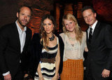 John Benjamin Hickey, Sarah Jessica Parker, Mamie Gummer, and Will Chase attended the NYC afterparty for Smash.