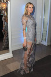 Diane Kruger wore a lacy Erdem gown.