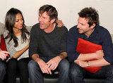 Zoe Saldana, Dennis Quaid, Bradley Cooper