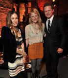 Sarah Jessica Parker, Mamie Gummer, and Will Chase attended the NYC afterparty for Smash.