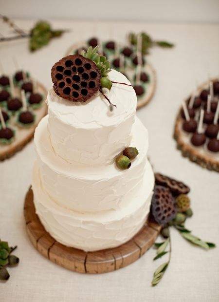 Country Rustic Wedding Cakes