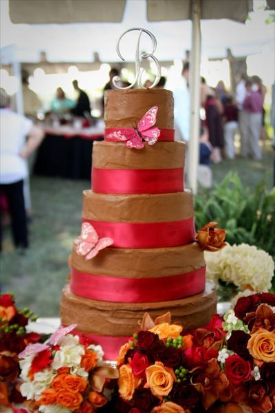 Chocolate Rustic Wedding Cakes
