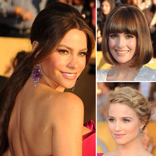SAG Awards Hair and Makeup How-Tos
