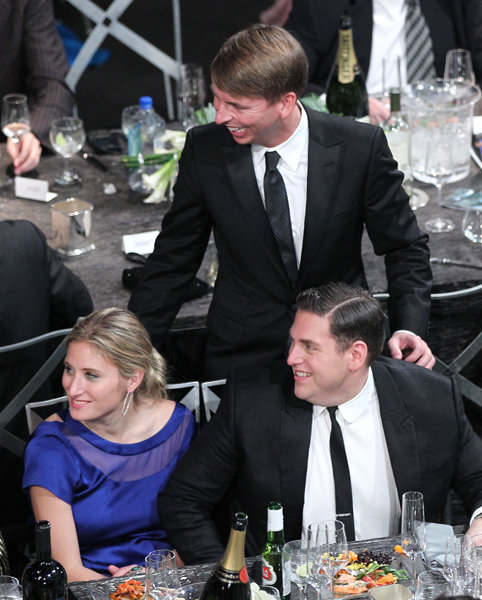 Ali Hoffman, Jonah Hill, and Jack McBrayer