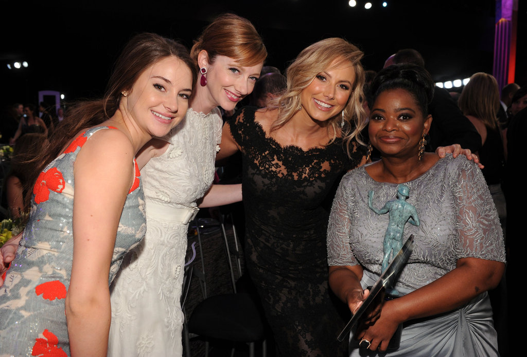 See the Stars Get Candid Inside the SAG Awards