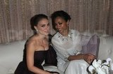 Natalie Portman and Zoe Saldana hung out in the SAG Awards green room.