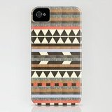Get on the trendy triangle train with Dawn Gardner's DG Aztec No. 1 ($35) case for iPhone 4 and 5.