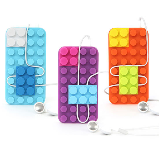 These Lego-inspired iPhone 4 and iPhone 4S cases ($29) have a built-in cord organizer.