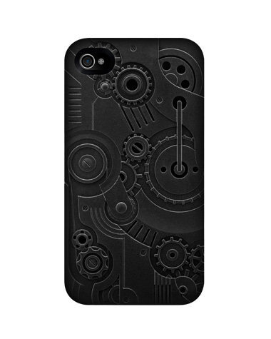 The subtle Switcheasy Avant-Garde Clockwork ($35) case for iPhone 4 has an amazing three-dimensional design close-up.