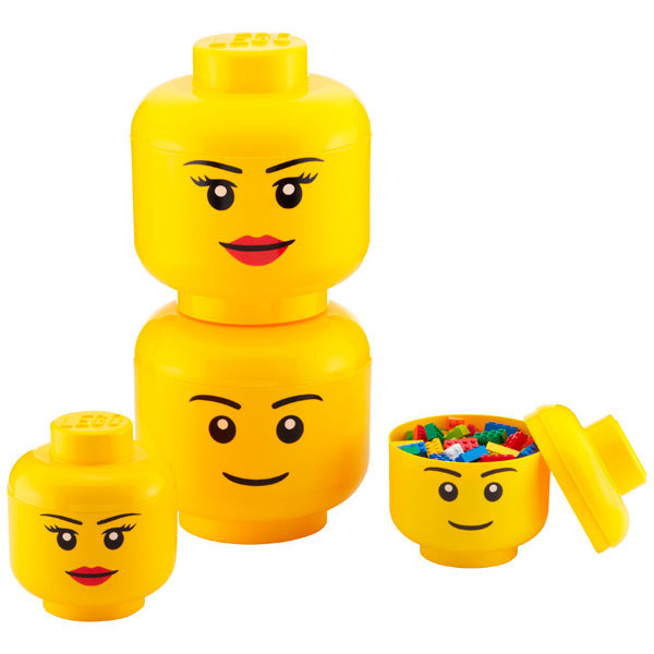 Lego Storage Heads ($20-30)
