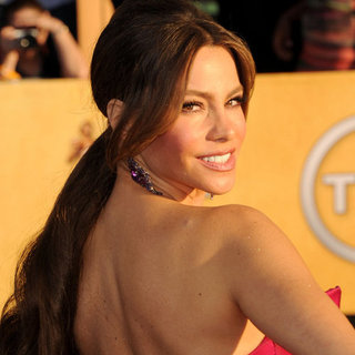 Sofia Vergara's 2012 SAG Awards Hair and Makeup Look