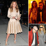 Casper Smart Keeps Jennifer Lopez Company For an Evening of Press and Dinner