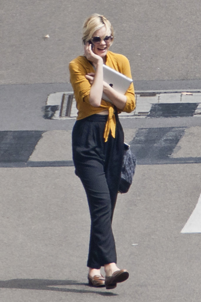 Carey Mulligan in Australia for The Great Gatsby.