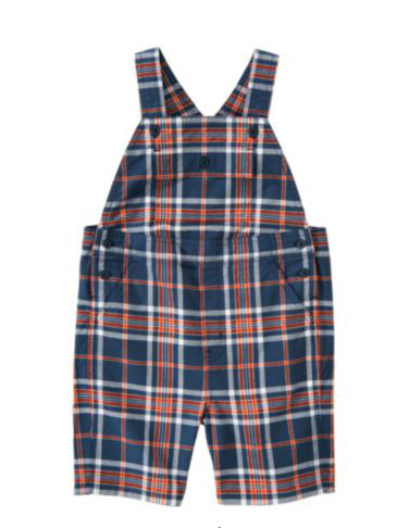 Janie and Jack Madras Plaid Shortall ($40)