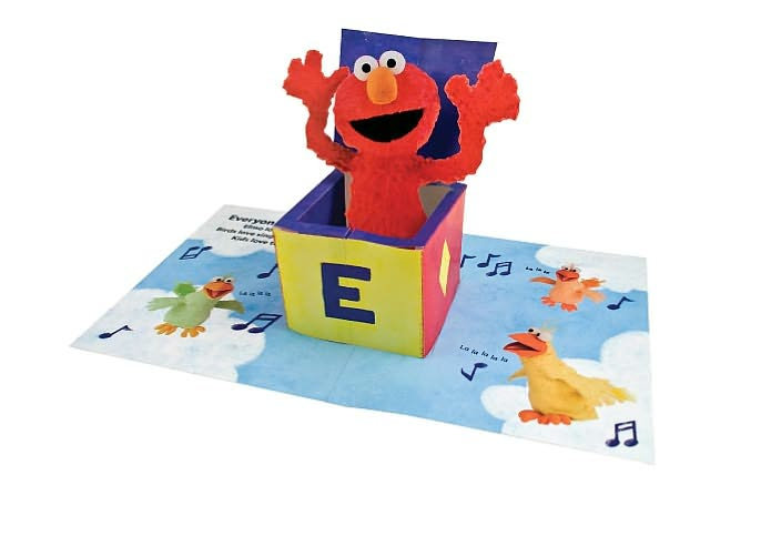Elmo Loves You: The Pop-Up