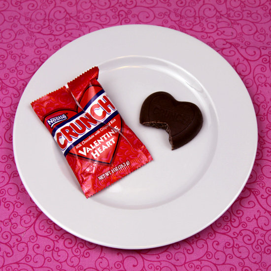 Nestle's Crunch Valentine Heart
