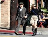 Rachel McAdams and Michael Sheen held hands in LA.