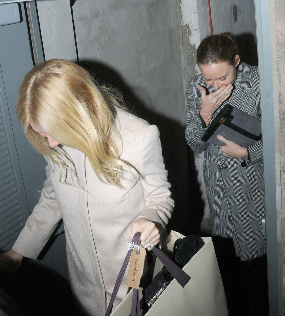 Gwyneth Paltrow and Stella McCartney had fun together in London.
