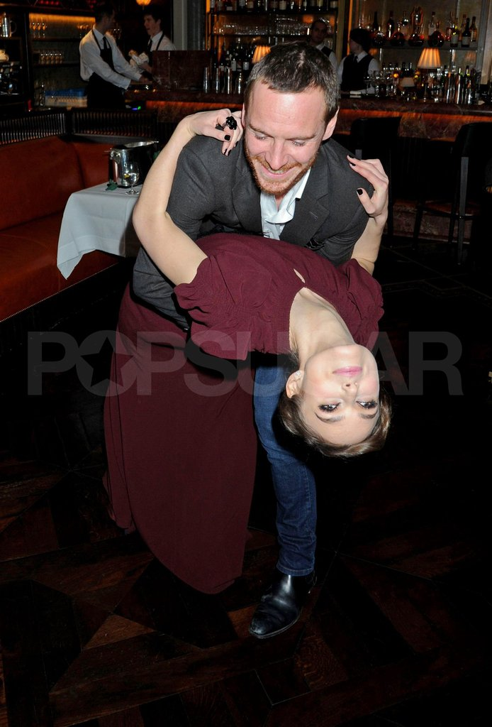 Michael Fassbender and Keira Knightley danced together.