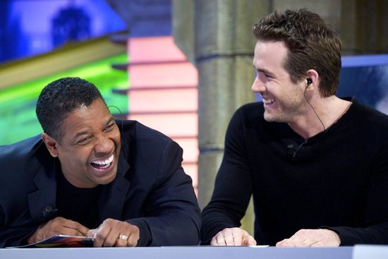 Ryan and Denzel Fall Victim to the Giggles While Talking Up Safe House
