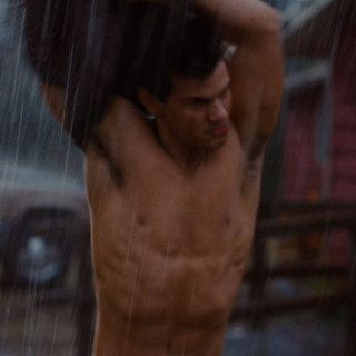 Breaking Dawn Part 1 DVD Bonus Feature of Shirtless Taylor Lautner and Jacob Character Evolution