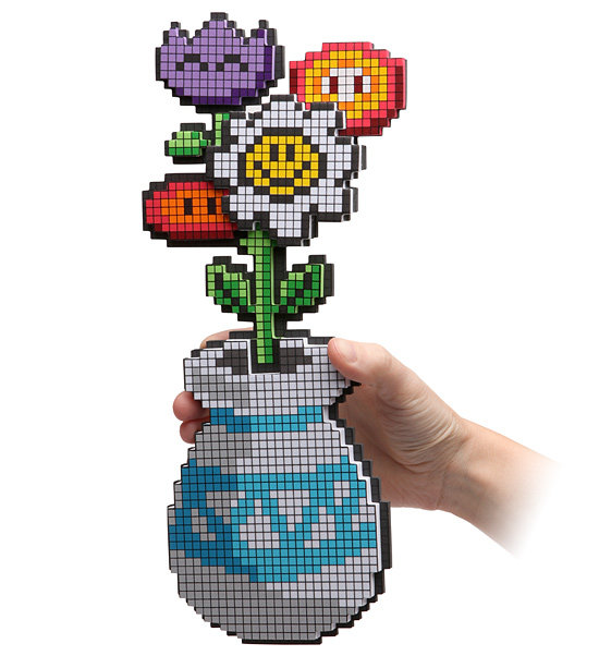 Eight-Bit Flower Bouquet ($15)