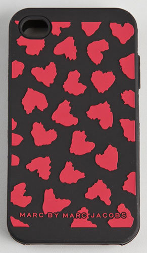 Marc by Marc Jacobs Wild Hearts iPhone 4 case ($34)