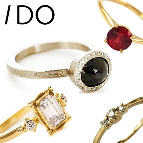 20 Non-Traditional Engagement Rings: Just in Time for Valentine's Day! Choose from Tiffany & Co, Cerrone, Jan Logan & more