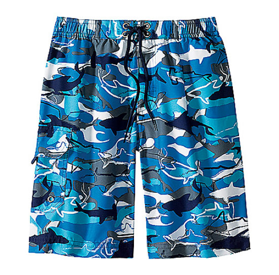 Hanna Andersson Sea Camo Trunks