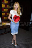 Blake Lively held a box of chocolates in NYC.