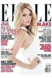 Blake Lively was in white Victoria Beckham and Lorraine Schwartz jewels on the cover of Elle.