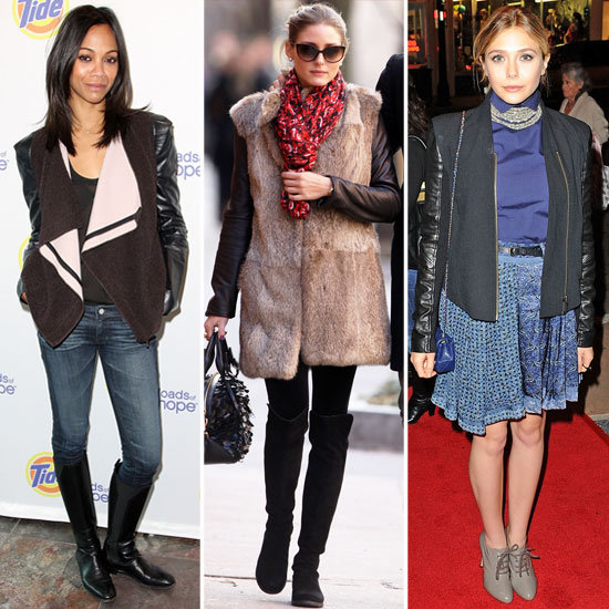 Celebrity Lookbook: Luxe Leather Sleeves