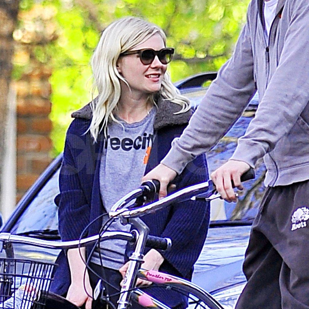 Kirsten Dunst spent time in LA with boyfriend Garrett Hedlund.