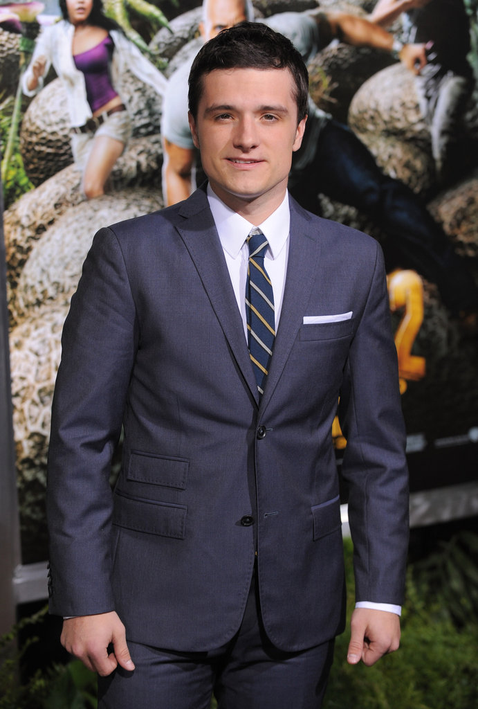 Josh Hutcherson attended the premiere of Journey 2: The Mysterious Island.