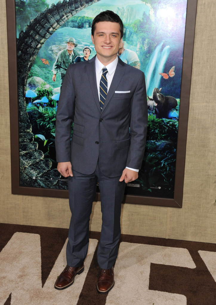 Josh Hutcherson was dapper in a suit.