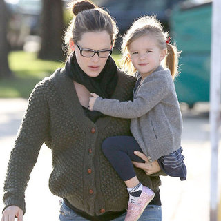 Pregnant Jennifer Garner Carries Seraphina Around LA