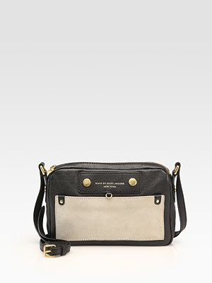 Marc by Marc Jacobs Prep Leather Camera Bag ($194)