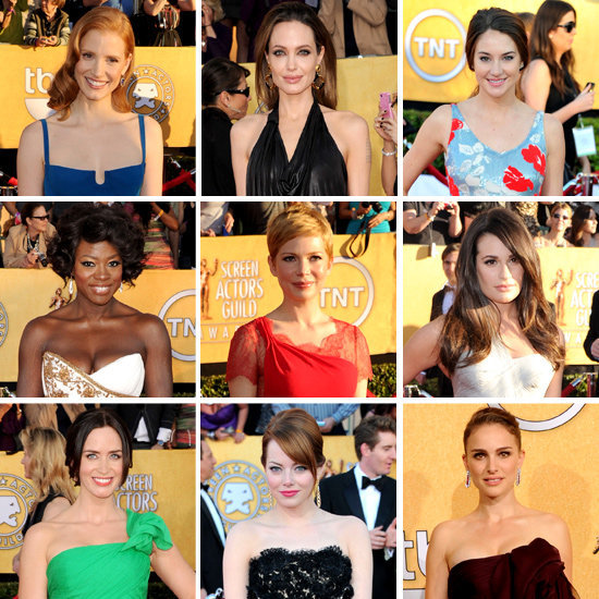 "In case you missed even a moment of the SAG Awards action, we've got you covered with this comprehensive ""who wore what"" roundup."