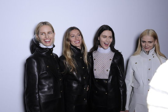 Supermodels and Super Smiles — Behind the Scenes at Alexander Wang, Altuzarra, Peter Som, & Hervé Léger
