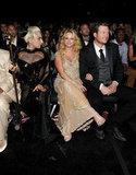 Lady Gaga, Miranda Lambert, and Blake Shelton