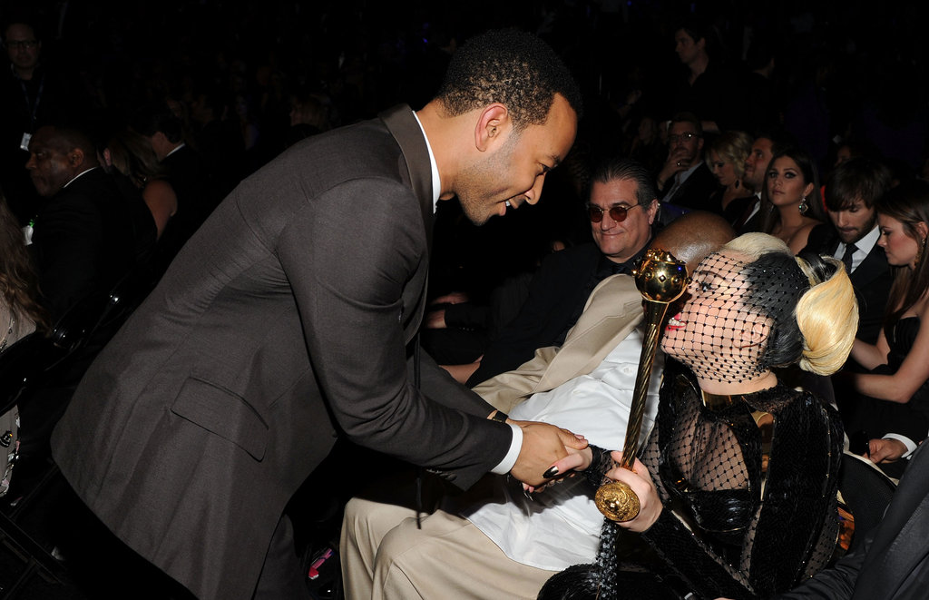John Legend and Lady Gaga