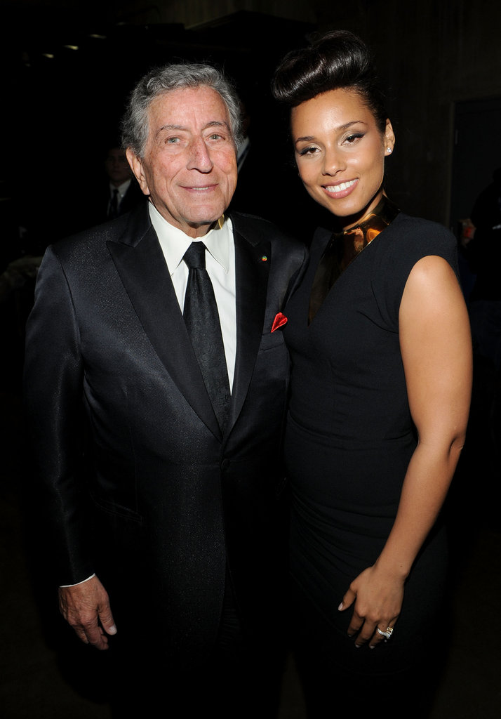 Tony Bennett and Alicia Keys