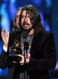 Dave Grohl accepted a Grammy.