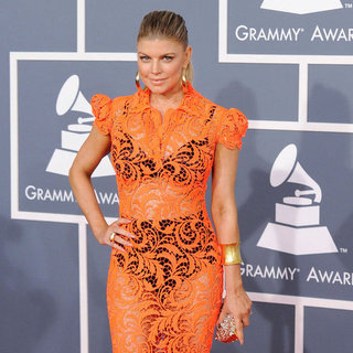 Fergie Pictures at the Grammys 2012