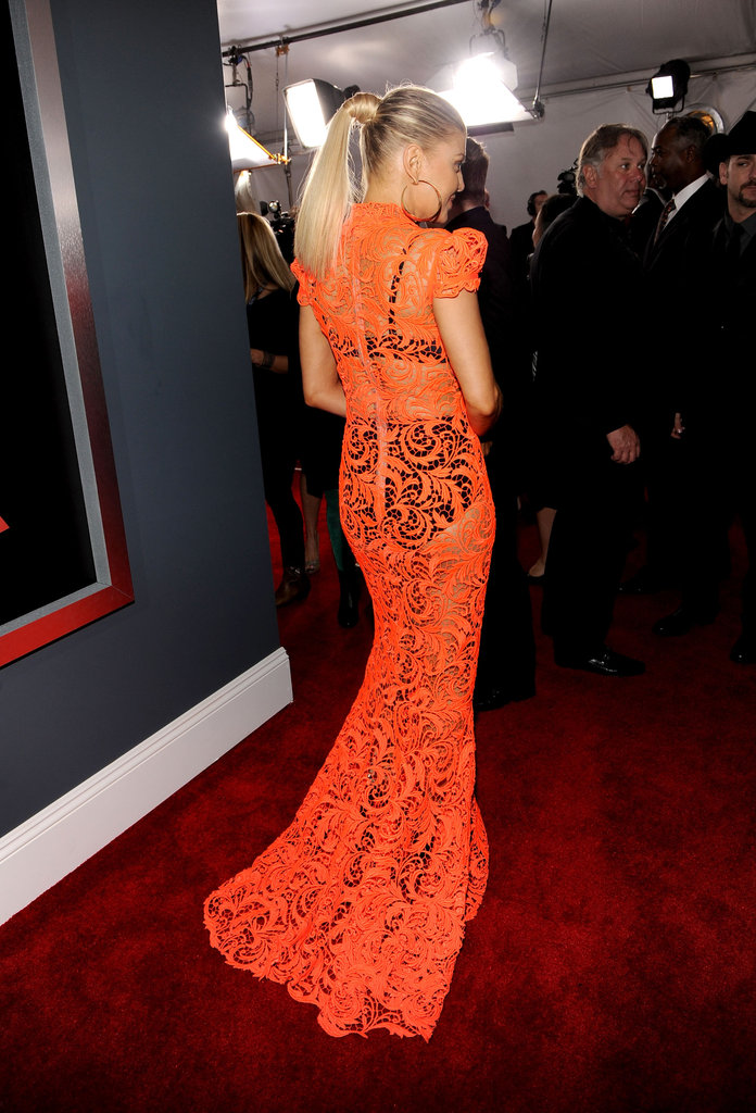 Fergie rocked Jean Paul Gaultier to the Grammys.