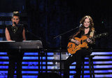Alicia Keys and Bonnie Raitt honored Etta James.