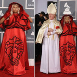 Nicki Minaj at Grammys 2012