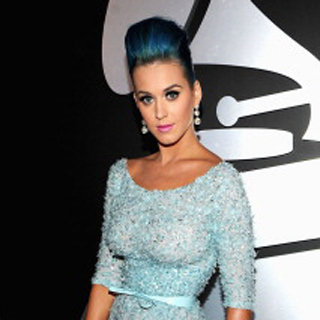 Katy Perry in Elie Saab at Grammys 2012