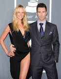 Adam Levine and Anne V, 2012